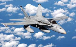 Палубный истребитель-штурмовик F/A-18A Hornet (США)