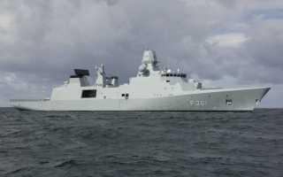 Фрегаты типа Iver Huitfeldt class (Дания)