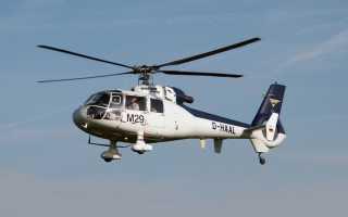 Легкий многоцелевой вертолет SA.315B Lama (Франция)