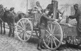 Из истории военно-полевой кухни