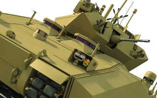 Проект боевой машины пехоты BAE Systems GCV (США)