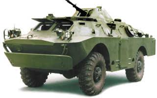 Бронированная разведывательно-дозорная машина БРДМ-2 (ГАЗ-41) (СССР)