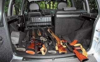 Хранение огнестрельного оружия в автомобиле