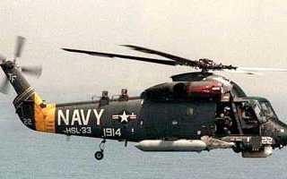 Противолодочный вертолет SH-2 Seasprite (США)
