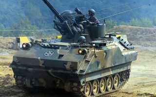 Самоходная зенитная установка M247 Sergeant York (США)