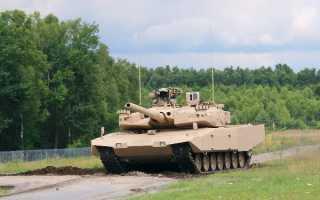 Основной танк MBT Revolution (Германия)