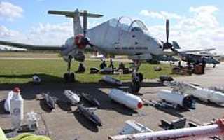 Лёгкий штурмовик IA-63 Pampa (Аргентина)