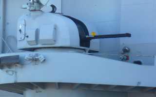 Зенитный артиллерийский комплекс Meroka CIWS (Испания)