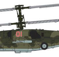 Боевой вертолет Ка-50 (СССР)