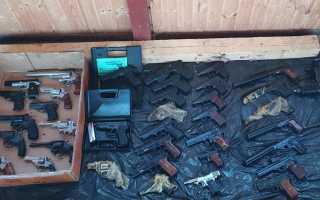 Черный рынок оружия оказался однообразным