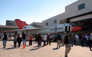 Опытный истребитель CF-105 «Arrow» (Канада)