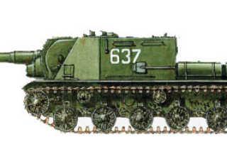 Самоходная артиллерийская установка ИСУ-152М (СССР)