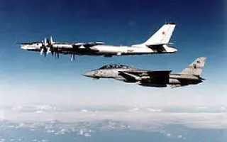 Палубный истребитель F-14 Tomcat (США)