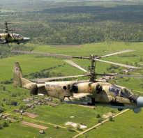 Боевой вертолёт Ка-52 (Россия)