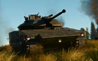 Боевая машина пехоты CV90 (Швеция)
