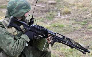 Ручной пулемет ПКП «Печенег»
