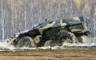 Бронеавтомобиль КАМАЗ-43269 «Выстрел» (Россия)