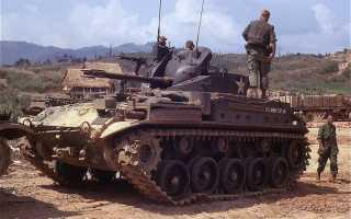 Зенитная самоходная установка M42 Duster (США)