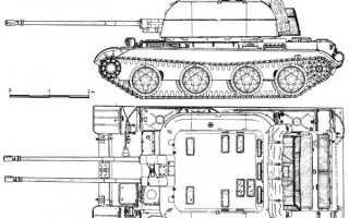 Опытная зенитная самоходная установка ЗСУ-57-2 «Объект 520» (СССР)