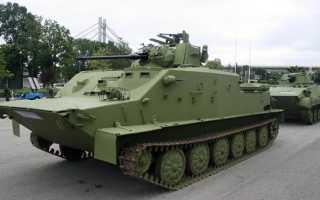 Командно-штабная машина БТР-50ПУ (СССР)