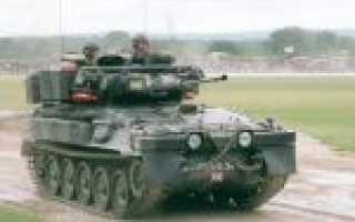 Боевая разведывательная машина FV107 Scimitar (Великобритания)