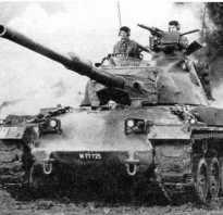 Средний танк Pz.68 (Швейцария)