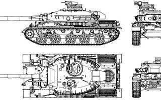 Основной боевой танк AMX-32 (Франция)