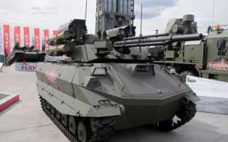 Роботизированный комплекс огневой поддержки «Удар» (Россия)
