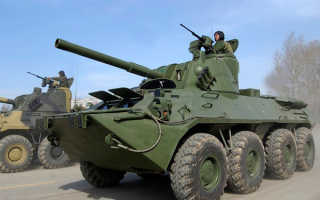 Самоходная артиллерийская установка 2С23 «Нона-СВК» (Россия)