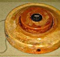 Противоднищевая мина HCT-4 (Италия)