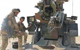 Самоходная артиллерийская установка Caesar (Франция)