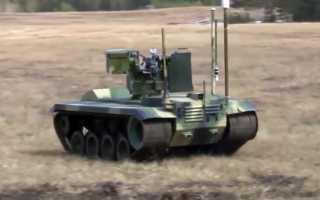 Роботизированный комплекс огневой поддержки «Нерехта» (Россия)