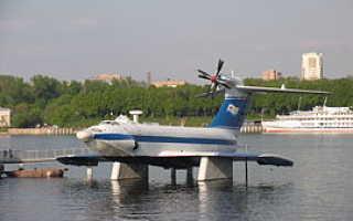 Транспортно-десантный экраноплан «Орлёнок» (проект 904) (СССР)