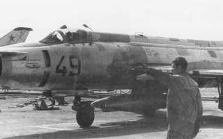 Учебно-боевой самолёт Су-17УМ (СССР)