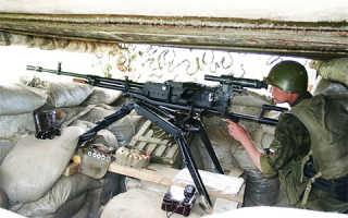 Крупнокалиберный пулемет «КОРД»