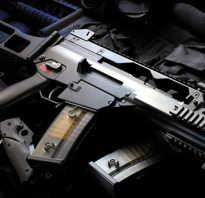 Автоматическая винтовка HK G11 (Германия)