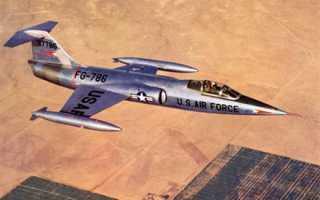 Истребитель F-104 Starfighter (США)