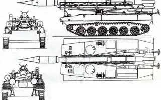 Самоходная пусковая установка 2П16 ракетного комплекса 2К6 «Луна» (СССР)