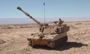 Самоходная гаубица M109A6 Paladin (США)