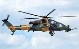 Ударный вертолёт Agusta-Westland T129 ATAK (Турция)