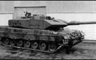 Основной боевой танк Pz.87 (Швейцария)