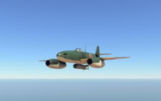 Опытный истребитель Nakajima J8N1 Kikka (Япония)