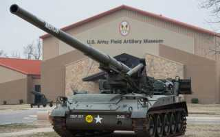 Самоходная артиллерийская установка M107 (США)
