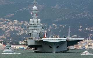 Авианосец Cavour (Италия)