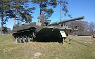 Буксируемая зенитная установка Bofors L/70 (Швеция)