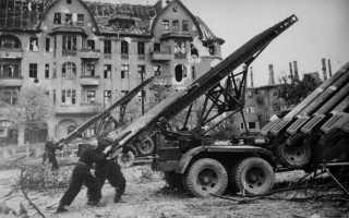 Реактивная система залпового огня БМ-21 «Град» (СССР)