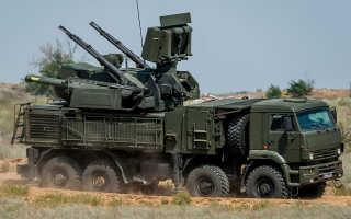 Зенитный ракетно-пушечный комплекс 96К6 «Панцирь-С1» (Россия)