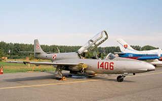 Учебно-тренировочный самолет TS-11 «Iskra» (Польша)