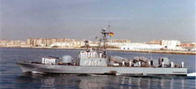 Головной ракетный катер Type 148 «Tiger» (Германия)