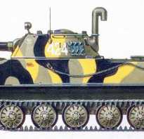 Плавающий танк ПТ-76Б (СССР)